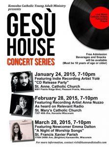 GEsu House concert series